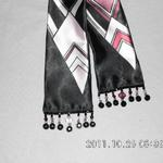 Art Deco beaded scarf.